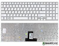 Клавиатура для ноутбука Sony VPC-EB (белая, RU)