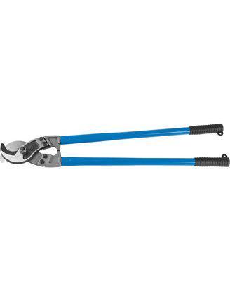 Кабелерез для небронированного кабеля из цв металлов,сталь У8А, кабель сечением до 300 мм2, ЗУБР