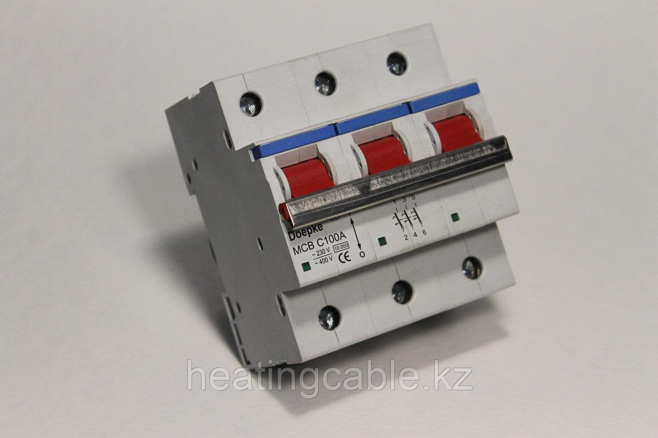 Автоматический выключатель Doepke C100A/3p/6ka
