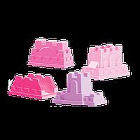 Набор формочек Замки (Розовые)