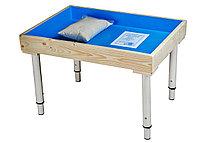 СТОЛ для юнгианской песочницы 50*70 для песка и воды + 5 кг песка в комплекте!!!