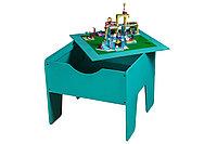 Lego-стол + полотно ! Цветной