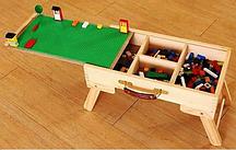 Lego-чемодан + ножки складные + полотно