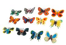 "Набор животных, ""Бабочки"" (набор 12шт)"