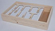 Набор инструментов для песочной анимации 9 штук (фанера)