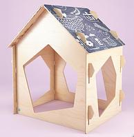 Игровой домик с грифельной крышей