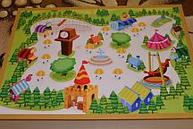 Игровое поле- крышка для планшета (5 видов) детская площадка