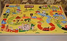 Игровое поле- крышка для планшета (5 видов) город