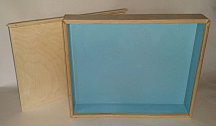 Юнгианская песочница 40*50 с Задвижной крышкой (Фанера)