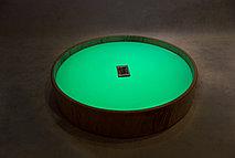 Круглый световой стол (цветная LED подсветка + пульт + 2 кг песка)