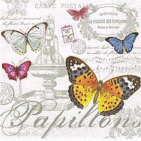 Бабочки цветные