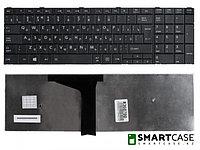 Клавиатура для ноутбука Toshiba Satellite C50, C50D (черная, RU)