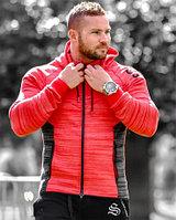 Спортивная куртка STRONG LIFTWEAR красная XL