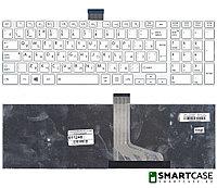 Клавиатура для ноутбука Toshiba Satellite C55-A (белая, RU)