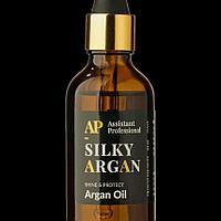 Аргановое масло Argan Oil глубокого питает ломкие волосы с секущимися кончиками склонные к выпадению 50 мл