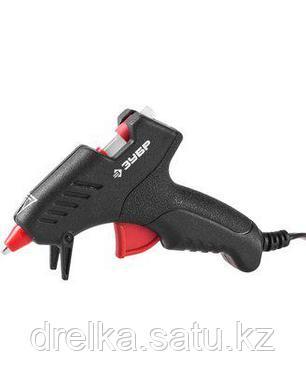 Клеевой пистолет ЗУБР 06850-10-08_z02, термоклеящий, электрический, эргономичная рукоятка, фото 2