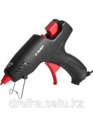 Клеевой пистолет ЗУБР 06850-55-12_z02, термоклеящий, электрический, эргономичная рукоятка, фото 2