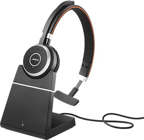 Bluetooth гарнитура с зарядным устройством Jabra Evolve 65 Mono (UC)