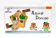 """Пазл-домино для малышей """"Животные"""""""