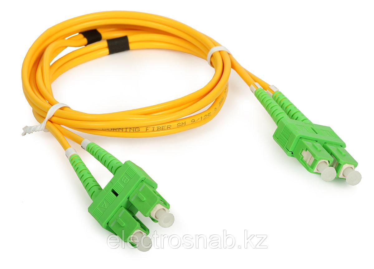Оптический патчкорд SC/APC-SC/APC Duplex SM