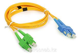 Оптический патчкорд SC/APC-SC/UPC Duplex SM