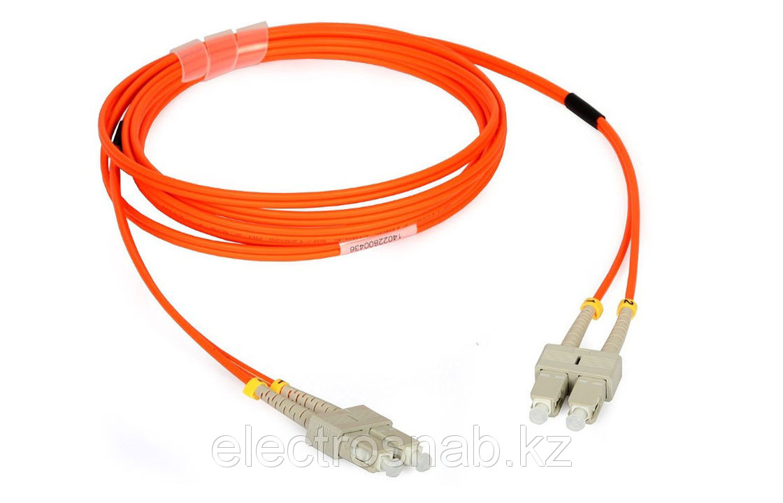 Оптический патчкорд SC/UPC-SC/UPC Duplex MM