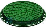 Канализационный люк пластиковый (чёрный) 800*800мм Whatsup +77075705151, фото 2