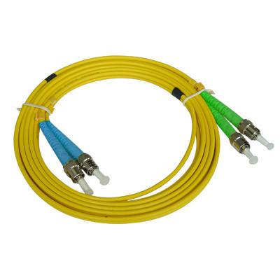 Оптический патчкорд ST/APC-ST/UPC Duplex SM
