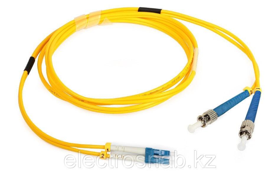 Оптический патчкорд ST/UPC-LC/UPC Duplex SM