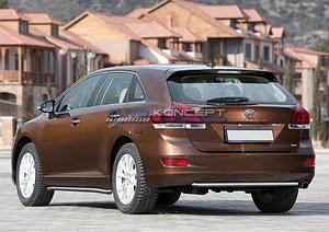 Защита заднего бампера d42 Toyota Venza 2012-2015