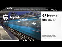 HP L0R16A HP 981Y, Оригинальный картридж PageWide увеличенной емкости, черный , HP 981Y