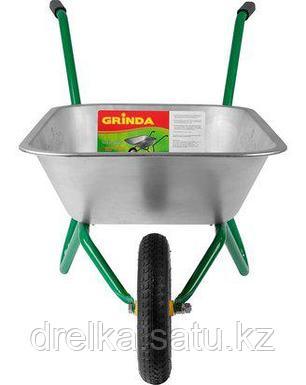 Тачка садовая GRINDA 422399_z01, 80 л, грузоподъемность 100 кг, фото 2