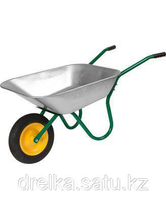 Тачка садовая GRINDA 8-422391_z01, грузоподъемность 100 кг, 70 литров , фото 2