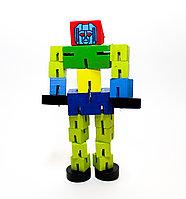 """Конструктор на резинке """"Робот"""", 17 см"""