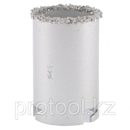 Кольцевая коронка с карбидным напылением, 43 мм// MATRIX, фото 2