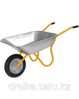 Тачка садовая СИБИН 39908, 65 л, грузоподъемность 90 кг