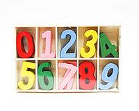 Деревянные цифры для счета, 14*7 см