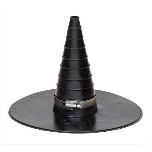 Самоклеющийся фартук для труб малого диаметра QuickSeam Conduit Flashing