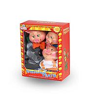 Кукольный театр 4 персонажа с ширмой №2