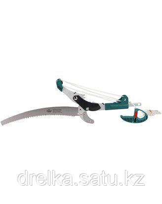 Высоторез сучкорез садовый ручной RACO 4218-53/376C, с упорной пластиной и пилой, 350 мм