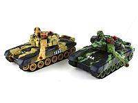Танковый бой 2 шт War Tanks на пультах управления