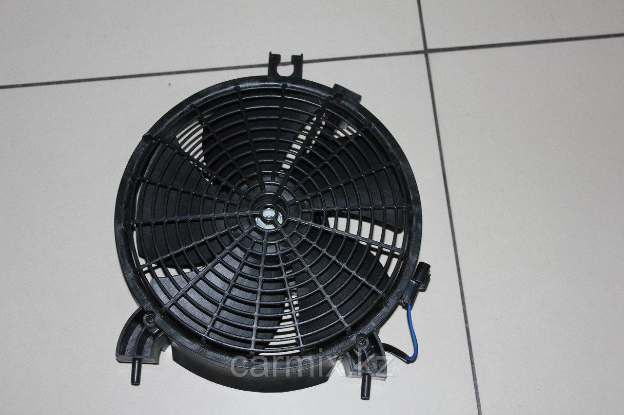 Моторчик вентилятора кондиционера (диффузор и лопасть в сборе) Pajero Sport