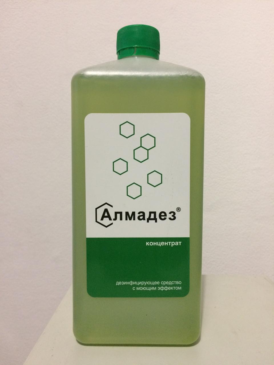 Дезинфицирующее средство с моющим эффектом Алмадез