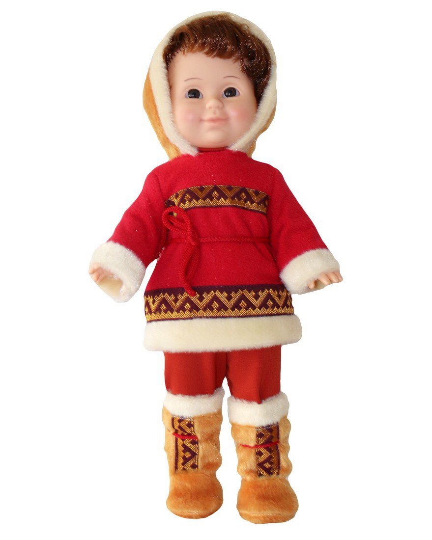 Кукла Оленевод 2 со звуком
