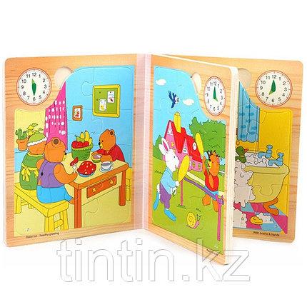 Деревянные книжки пазлы (в книжке 6 пазлов), фото 2