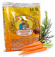 Каша Здоровяк №15 с морковью, чесноком, имбирем и дегидрокверцитином