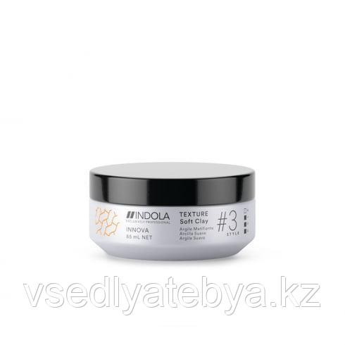 Indola Professional Клей для волос Texture Soft Clay Innova Style # 3 Hold, 85 мл