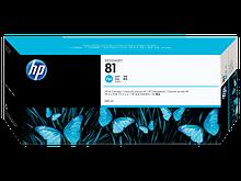 HP C4931A картридж Струйный Голубой HP 81 для DesignJet 5500/5500ps, 680 ml