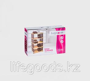 Этажерка для обуви Rattan пластик 5 полок, Tuffex/Alkan TP7011, фото 2