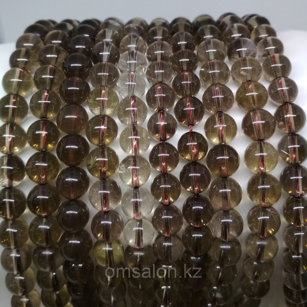 Раухтопаз (дымчатый кварц) 8 мм